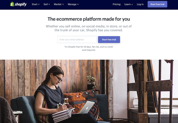landing pages examples