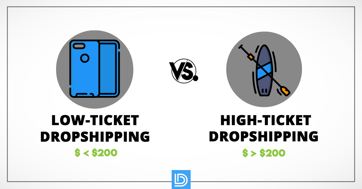 high vs low ticket